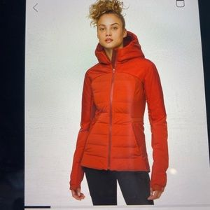 Lulu lemon down jacket